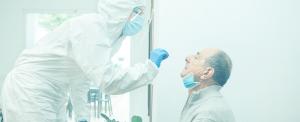 Prueba de antígenos realizada a un colaborador