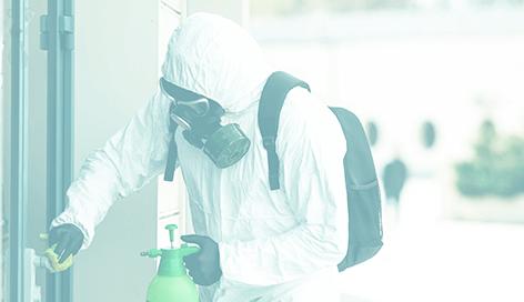 manejo de residuos solidos, protocolo para desinfectar